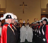 Knights at Bishops Mass